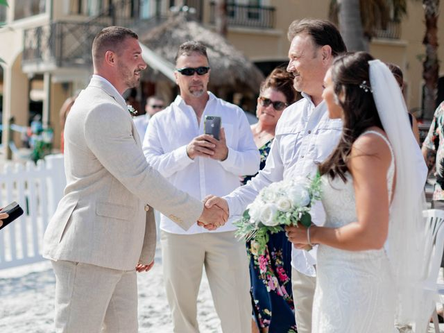Keith and Brooke's Wedding in Clearwater Beach, Florida 16