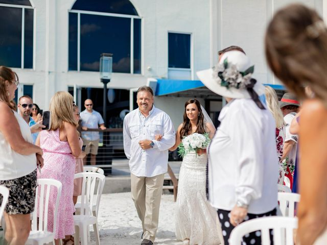 Keith and Brooke's Wedding in Clearwater Beach, Florida 17