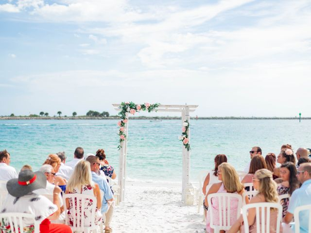 Keith and Brooke's Wedding in Clearwater Beach, Florida 18