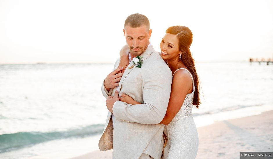 Keith and Brooke's Wedding in Clearwater Beach, Florida