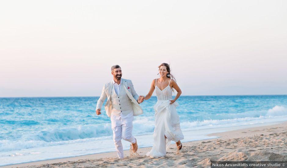 Katerina and Dimitris's Wedding in Lefkada, Greece