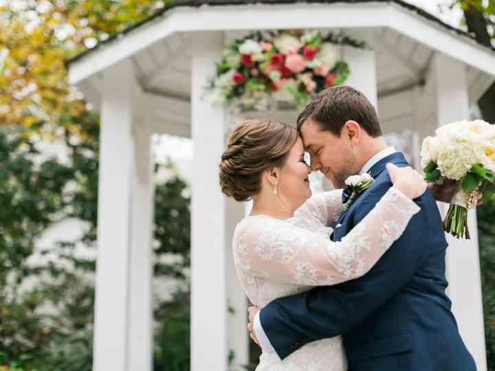 The wedding of Amber and Matt