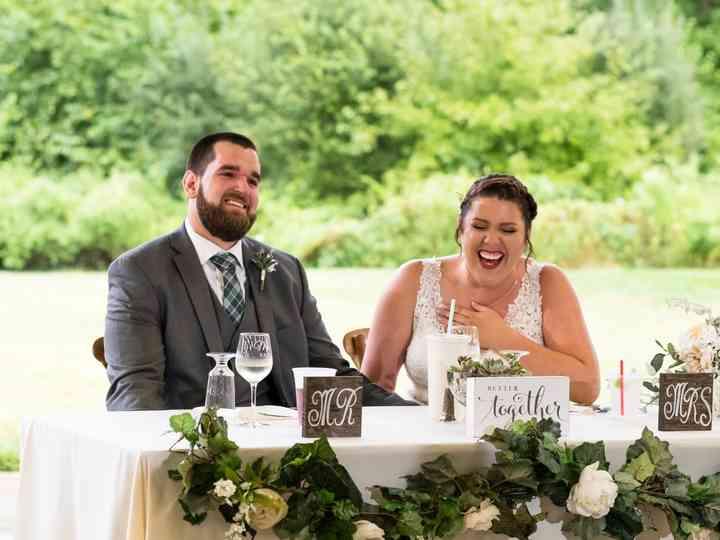 The wedding of Kerri and Christopher