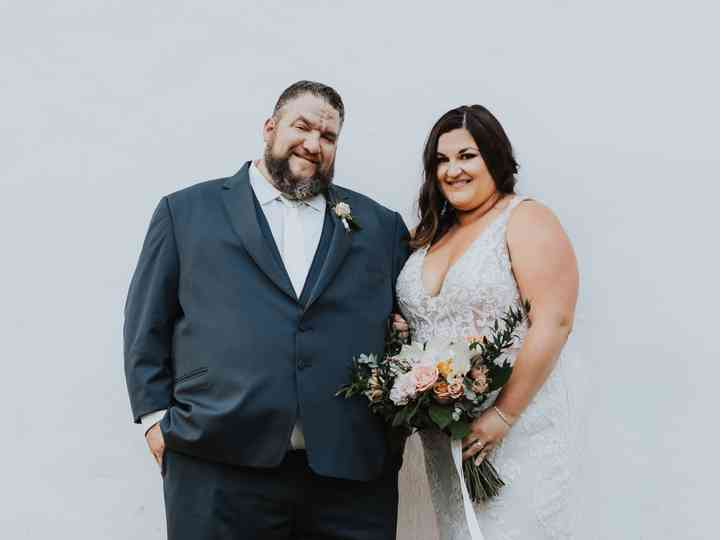 The wedding of Meghan and Bill