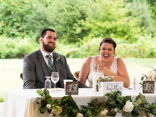 The wedding of Kerri and Christopher