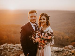 The wedding of Mikayla and Wes