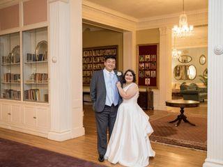 The wedding of Cecilia and Joshua