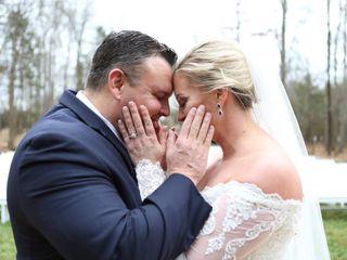 The wedding of Melanie and Eddie 1