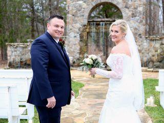 The wedding of Melanie and Eddie