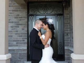 The wedding of Matt and Heidi
