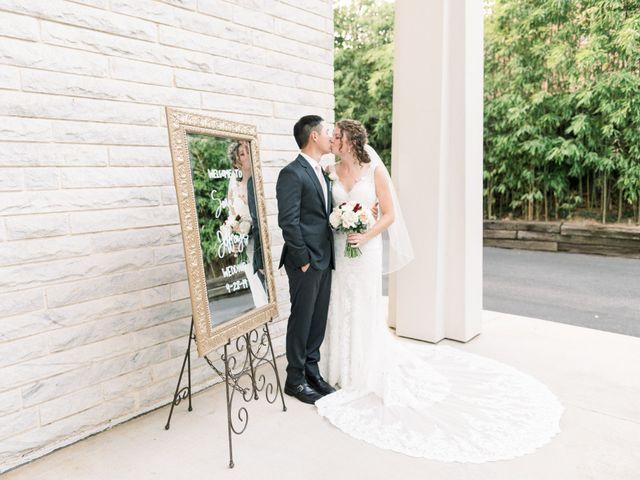 The wedding of Sarah and Jeffrey
