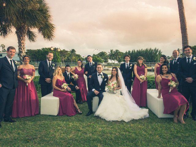 Alex and Kyle's Wedding in Key Biscayne, Florida 9