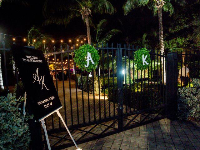 Alex and Kyle's Wedding in Key Biscayne, Florida 13