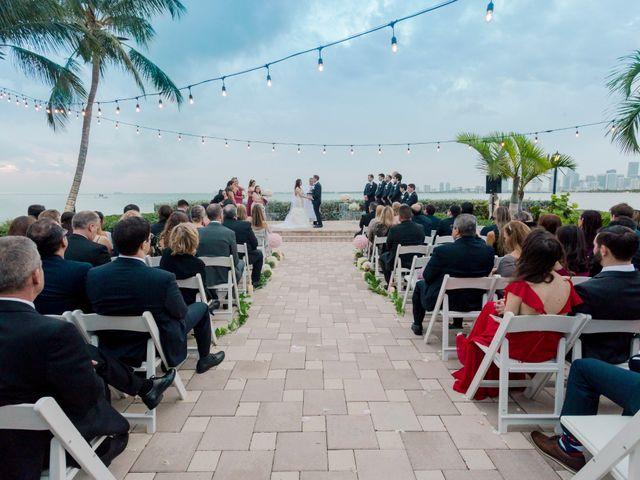 Alex and Kyle's Wedding in Key Biscayne, Florida 15