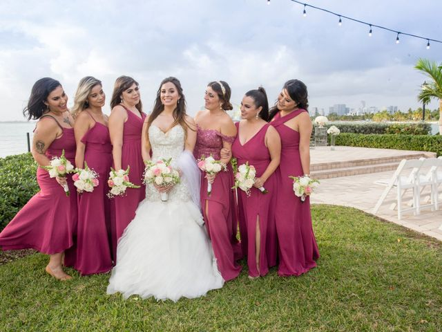 Alex and Kyle's Wedding in Key Biscayne, Florida 16