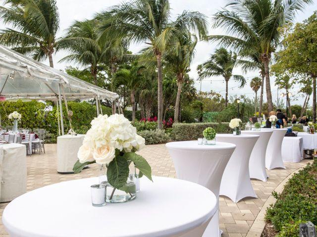 Alex and Kyle's Wedding in Key Biscayne, Florida 17