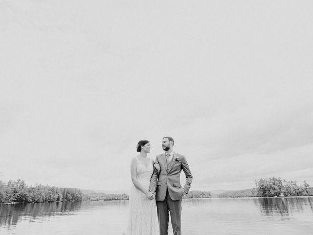 Jon and Hannah's Wedding in Fryeburg, Maine 8