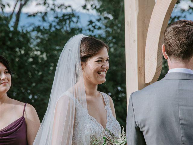 Jon and Hannah's Wedding in Fryeburg, Maine 14