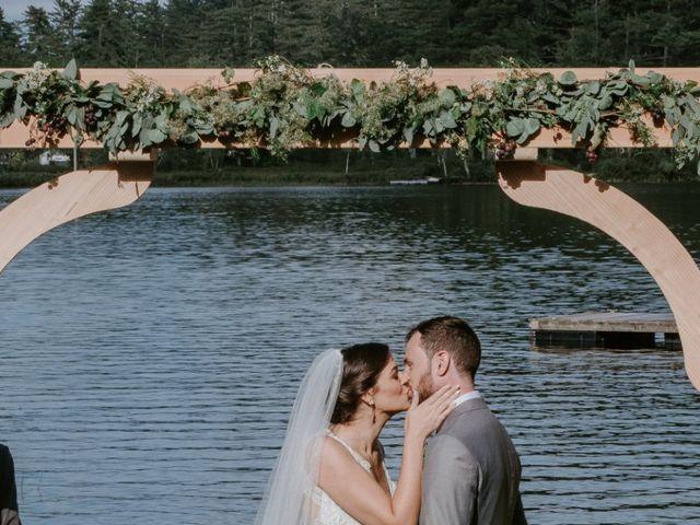 Jon and Hannah's Wedding in Fryeburg, Maine 16