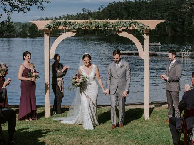 Jon and Hannah's Wedding in Fryeburg, Maine 17