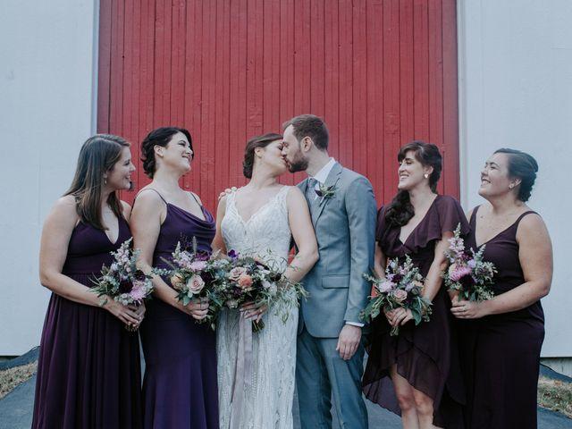 Jon and Hannah's Wedding in Fryeburg, Maine 19