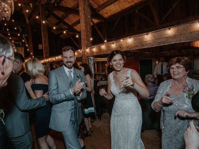 Jon and Hannah's Wedding in Fryeburg, Maine 28