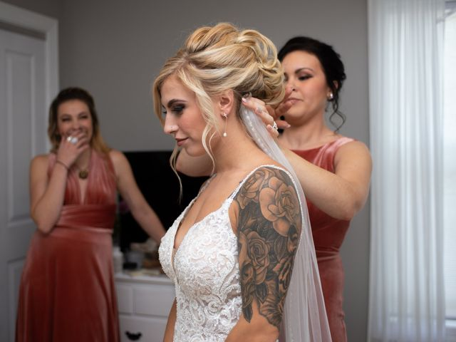 Cody and Shelby's Wedding in Gasport, New York 4