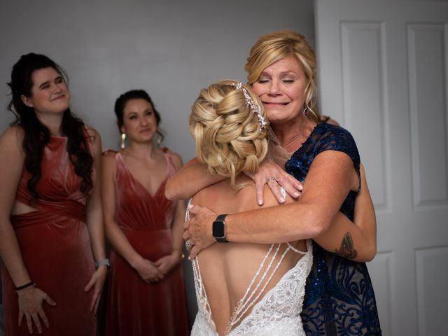 Cody and Shelby's Wedding in Gasport, New York 6