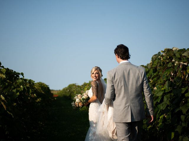 Cody and Shelby's Wedding in Gasport, New York 16