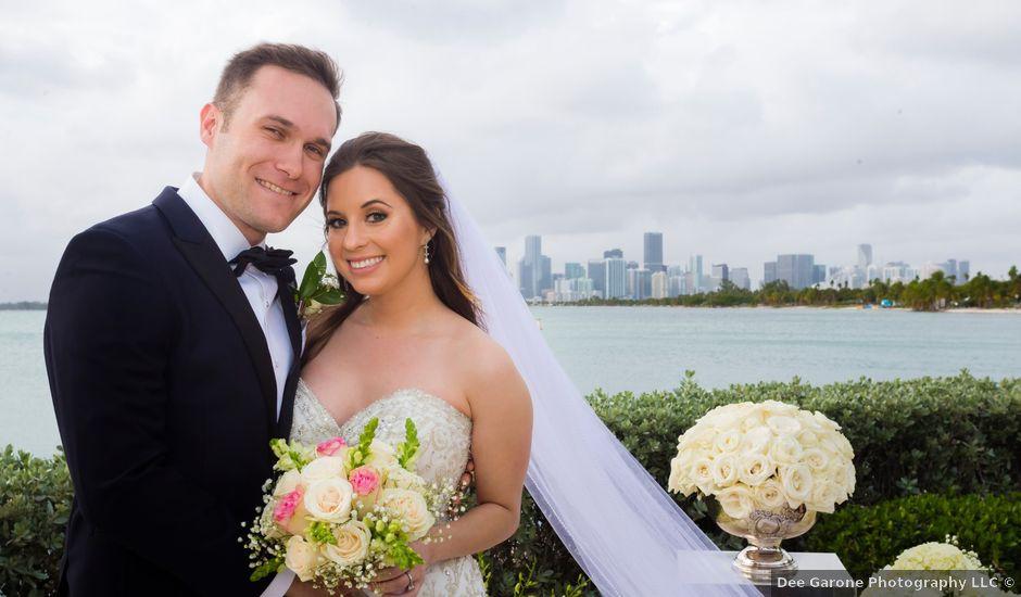 Alex and Kyle's Wedding in Key Biscayne, Florida