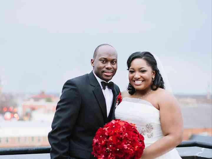 The wedding of Doyin and Veronica