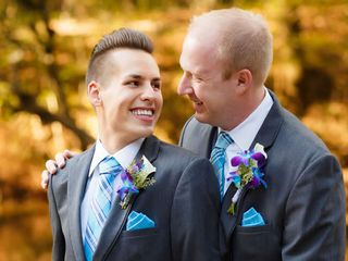 The wedding of Alex and Anthony 1