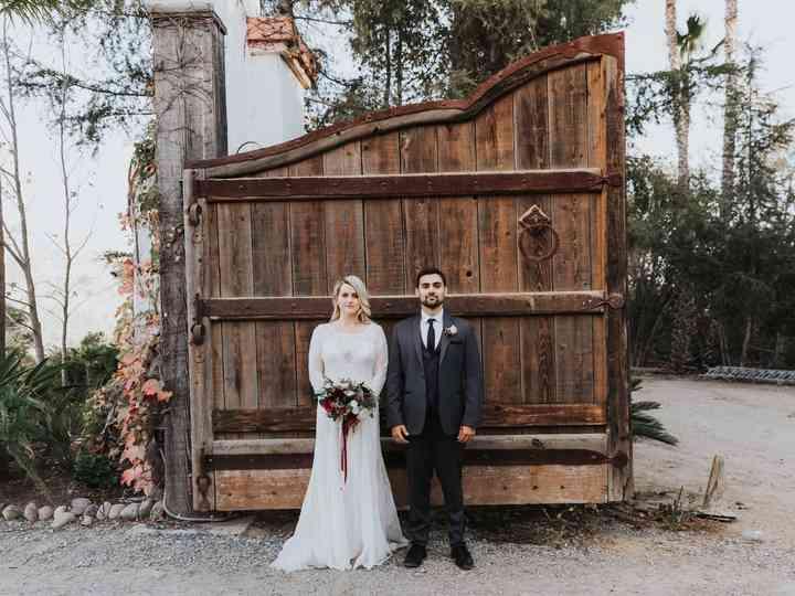 The wedding of Justin and Cori