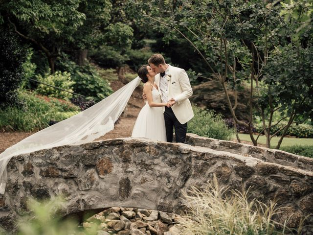 The wedding of Andrew and Christina