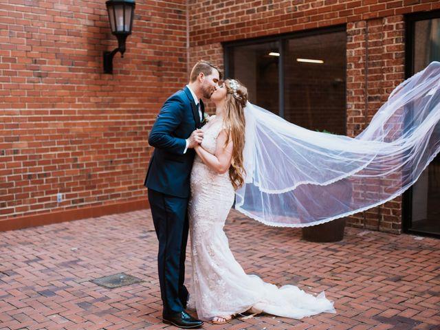 The wedding of Alex and John David
