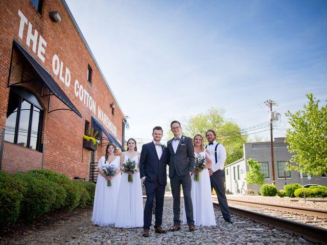 Blake and Ethan's Wedding in Greenville, South Carolina 26