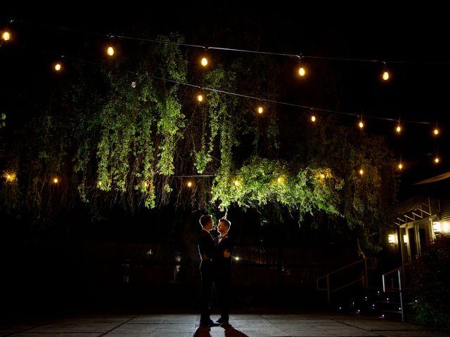The wedding of Ethan and Blake