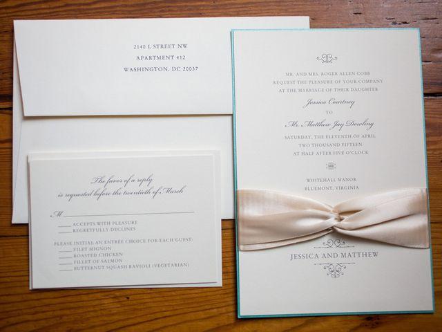 Jessica and Matthew's Wedding in Bluemont, Virginia 1
