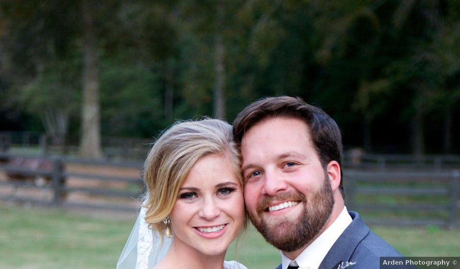 Caroline and Hayden's Wedding in Pelham, Alabama