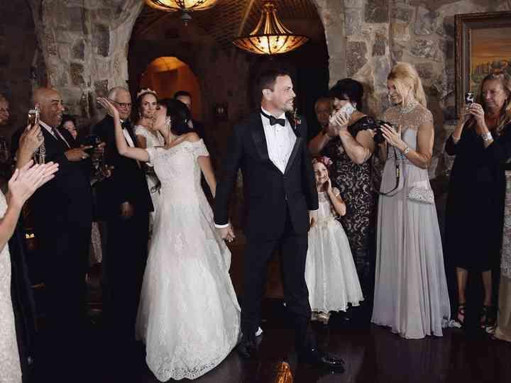 The wedding of Kristina and Adam