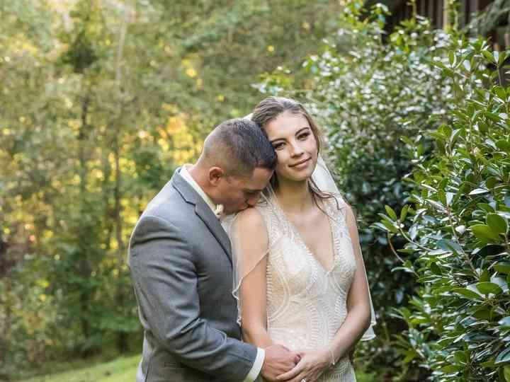 The wedding of Corey and Lindsey