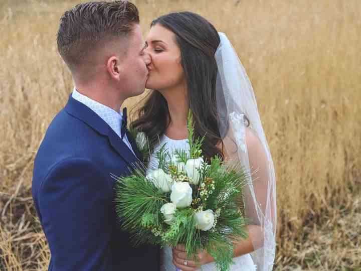 The wedding of Sean and Peyton