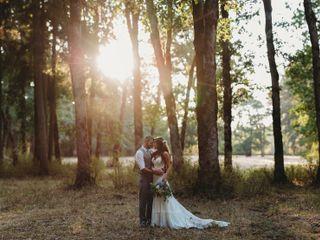 The wedding of Aji and Eric