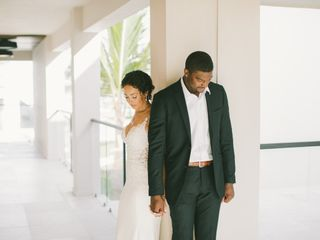 The wedding of Samantha and Rick