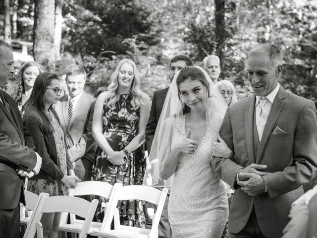 Lindsey and Corey's Wedding in Clarkesville, Georgia 1