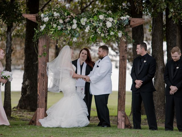 Emily and Seth's Wedding in Stroud, Oklahoma 8