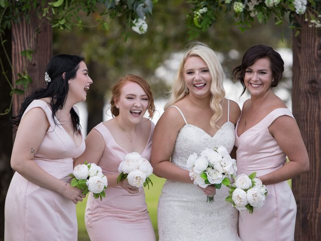 Emily and Seth's Wedding in Stroud, Oklahoma 10