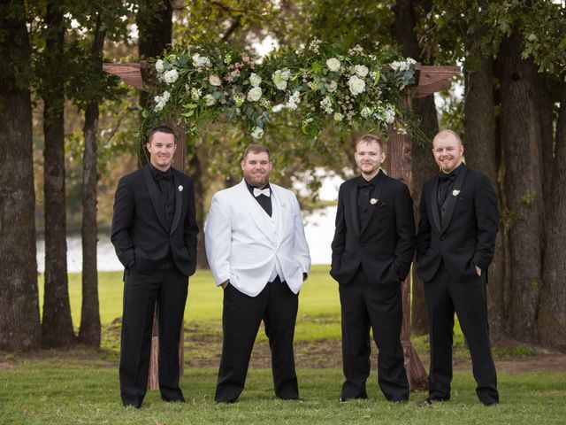 Emily and Seth's Wedding in Stroud, Oklahoma 11