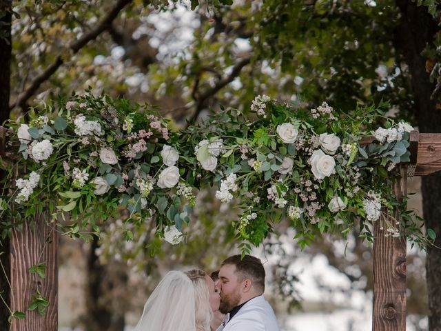 Emily and Seth's Wedding in Stroud, Oklahoma 19