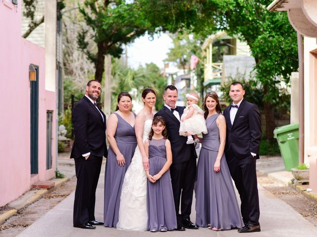 A.J. and Rochelle's Wedding in Saint Augustine, Florida 12